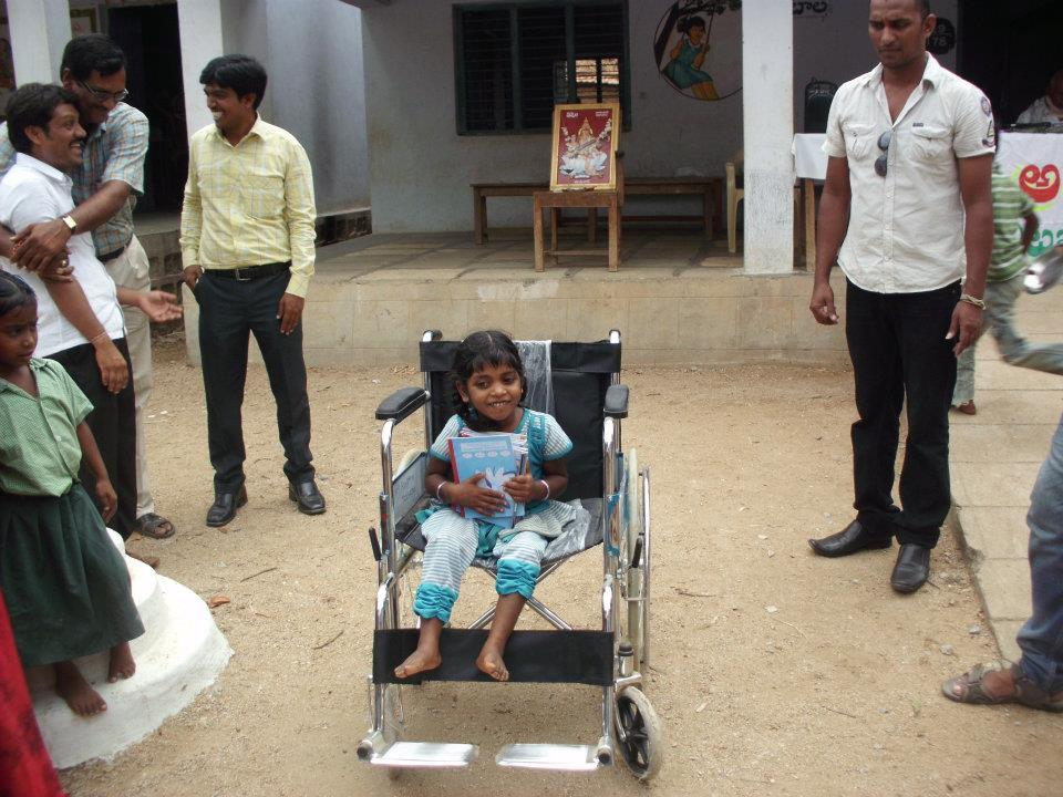 Project 10: Wheelchair Donated to Poor Kid – Welcome